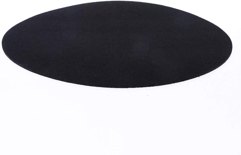 yiianger Felt Turntable Platter Mat LP Slip Mat Audiophile 3mm Thick for LP Vinyl Record