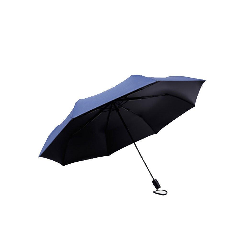 B Sun Umbrellas UV Sunscreen Women and Women Fold Fold Black Plastic Umbrellas Folded Double