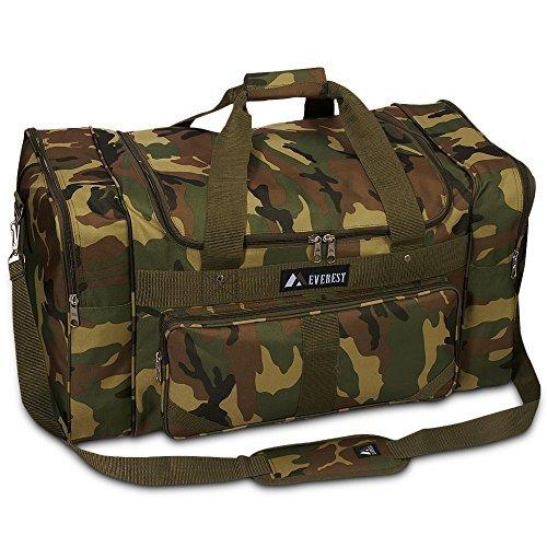 Everest Camo Duffel Bag Color: Jungle Camo ()