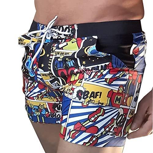 Foshan Xiongfeng Clothing Co., Ltd Taddlee Basic Men's Swimwear XXL Swimsuits Swim Surf Board Boxer Trunks Shorts (L) price tips cheap
