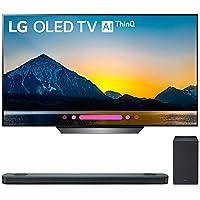 "LG 65"" Class B8 OLED 4K HDR AI Smart TV 2018 Model (OLED65B8PUA) with LG 5.1.2-Channel Hi-Res Audio Soundbar with Dolby Atmos"