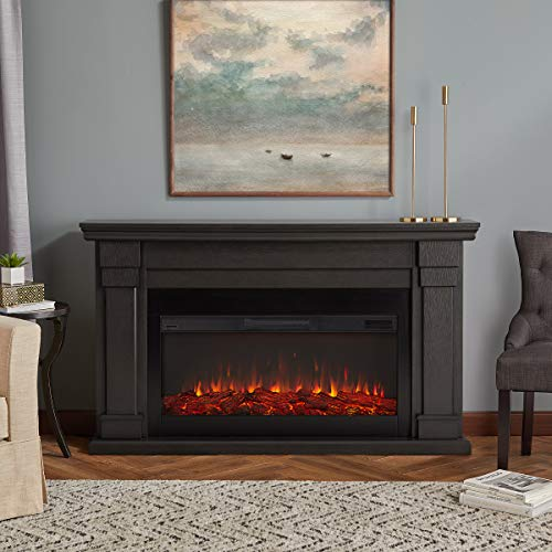 Cheap Real Flame Carlisle Electric Fireplace Gray Black Friday & Cyber Monday 2019