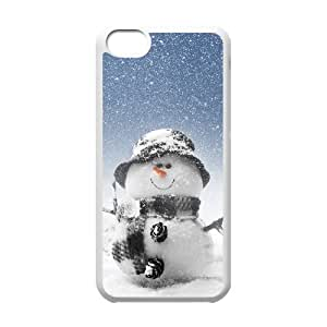 VNCASE Snowman Phone Case For Iphone 5C [Pattern-6] by Maris's Diary