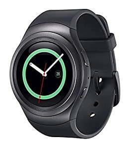 Samsung Gear S2 R730A Smartwatch (AT&T) - Black / Dark Gray (CPO)