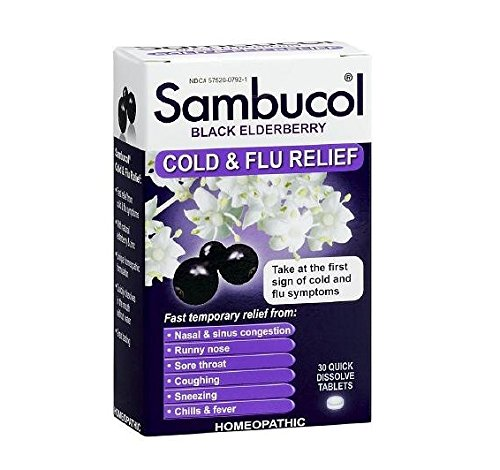 Sambucol Cold & Flu Relief Tablets 30