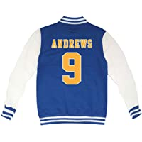 KiarenzaFD Riverdale Archie Andrews Football 9 - Chaqueta de Cuello Redondo