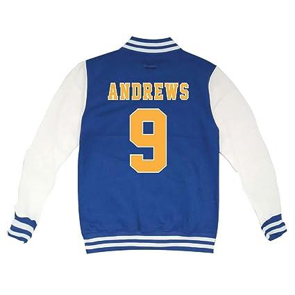KiarenzaFD Riverdale Archie Andrews Football 9 - Chaqueta de Cuello Redondo - KJHA00001-S-