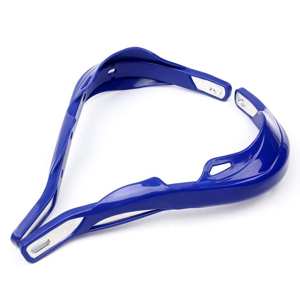 Triclicks Paramani per Manubrio 22mm//28mm Moto//Motocross Alluminio Universale Blu