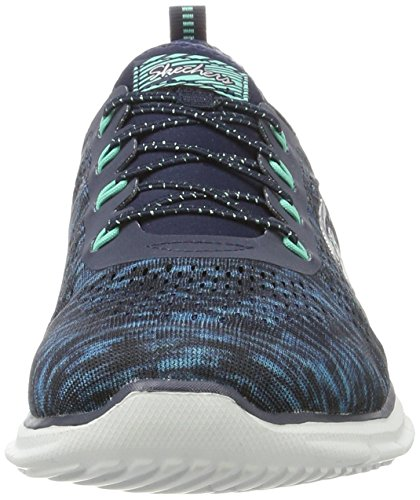 Navy Fearless Sneaker Green Fashion Skechers Women's IfqC4wBB