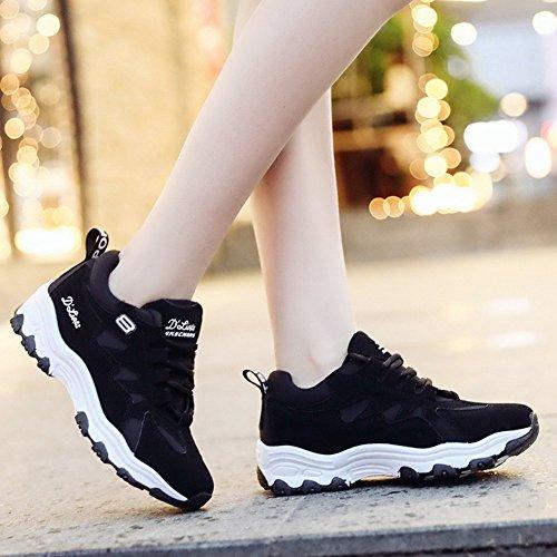 Ligero Mujer Calzado Zapatos Calzado Calzado para Mujer Mujer Calzado 37 para Deportivo para Casual para Mujer Deportivo Negro Color Deportivo Mujer para para Deporte Calzado tamaño ErxwZEHaq