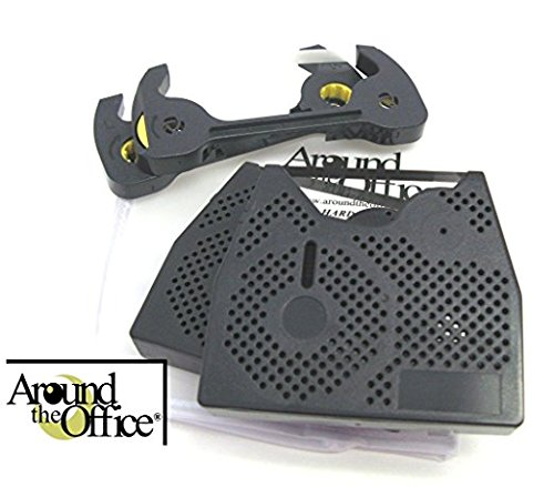 Around The Office Compatible Smith Corona Typewriter Ribbon & Correction Tape for XD 6500.This Package Includes 2 Typewriter Ribbons and 2 Lift Off Tapes by Around The Office