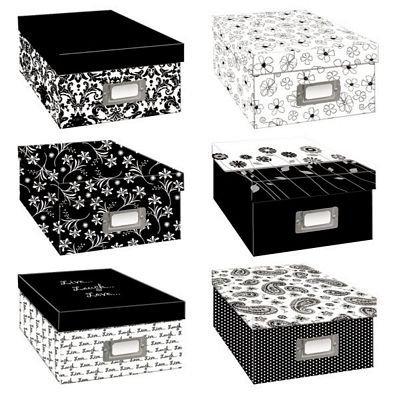 Pioneer Storage Box six Assorted Designs