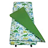 Original Nap Mat, Wildkin Children's Original Nap Mat with Built in Blanket and Pillowcase, Pillow Insert Included, Premium Cotton and Microfiber Blend, Children Ages 3-7 years – Dinomite Dinosaurs