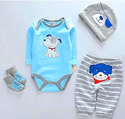 "Baby Clothes Set For 20-23/"" Baby Boy Doll Outfit Reborn Nursery Set NO Bebe Gift"