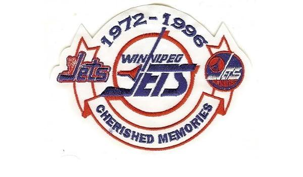 uk availability 0abfa 397af Winnipeg Jets Cherished Memories Jersey Sleeve Patch 1972 ...