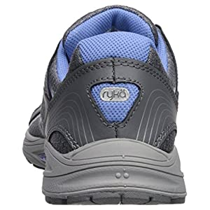 RYKA Women's Sky Walking Shoe, Slate Grey/Chrome Silver/Robin Blue, 8.5 M US