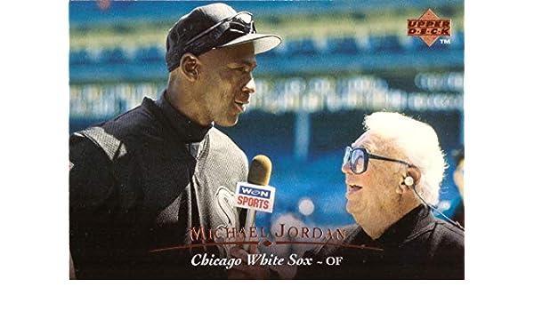 Amazoncom 1995 Upper Deck 200 Michael Jordan White Sox