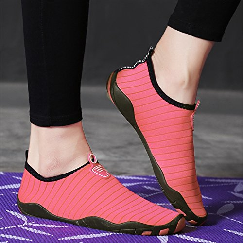 xie Chaussettes de Sport Aquatique Unisex pour Tous Les Adultes Adapté à la Natation la Plongée et Le Yoga dans la Plage Le Gymnase et la Piscine Pink KCsgvDe2R