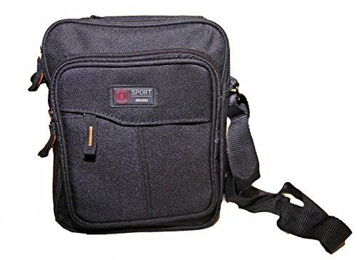 Pouch Black Strap Bag Satchel Men Unisex Shoulder Sport Women S46fa