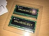 CORSAIR ValueSelect 16GB (2 x 8G) 204-Pin DDR3 SO-DIMM DDR3 1333 (PC3 10600) Laptop Memory Model CMSO16GX3M2A1333C9