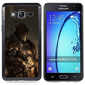 For Samsung Galaxy On5 O5 Case , Héroe Monster Pc Juego de combate - Diseño Patrón Teléfono Caso Cubierta Case Bumper Duro Protección Case Cover Funda