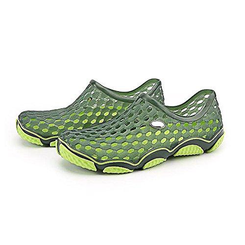 Men's Garden Clogs Slippers Green Breathable Sandals Summer Beach Eastlion dIwqpnBd