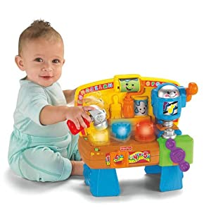 Amazon Com Fisher Price Laugh Amp Learn Learning Workbench