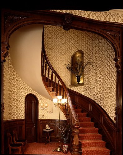 Photography Poster   Staircase At The Bolling Haxall House Now The Headquarte