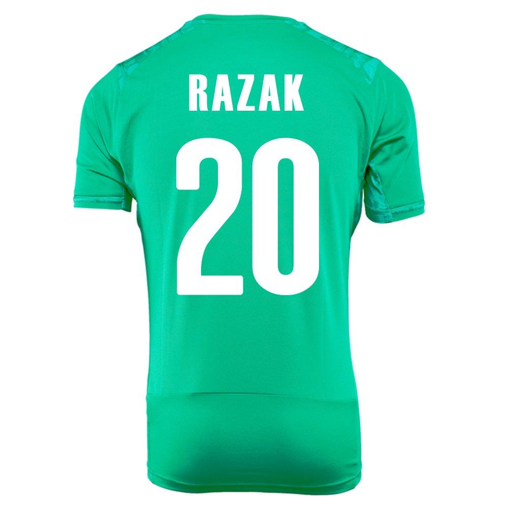 PUMA RAZAK #20 IVORY COAST AWAY JERSEY WORLD CUP 2014/サッカーユニフォーム コートジボワール アウェイ用 ワールドカップ2014 背番号20 ラザク B00K5Y2MYI Small