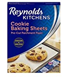 precut wax paper - Reynolds Kitchens Cookie Baking Sheets Parchment Paper (Non-Stick, 22 Sheets)