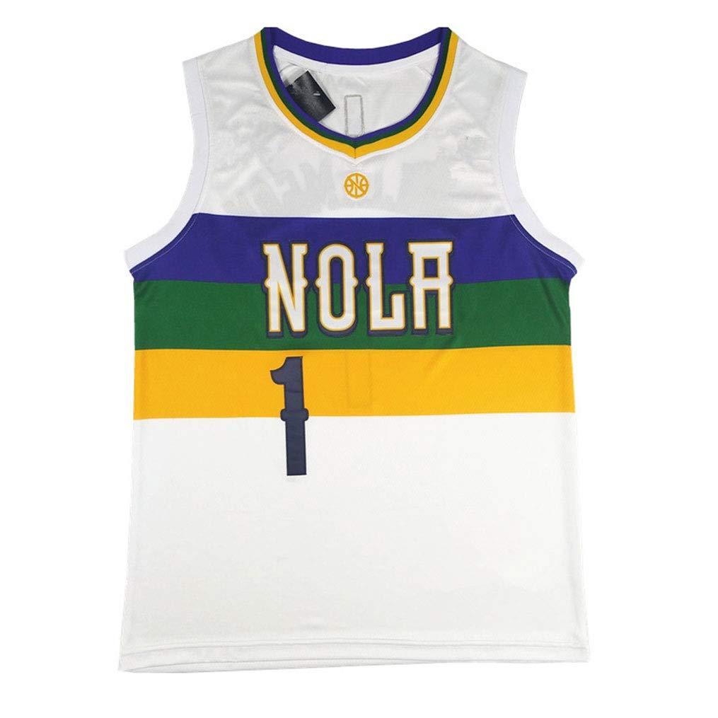 Color : Black, Size : XXL C/ómodo Y Transpirable Bordado Deportes Camiseta Sin Mangas S-XXL LDFN Jersey Baloncesto Tony Parker # 9 Baloncesto Jersey