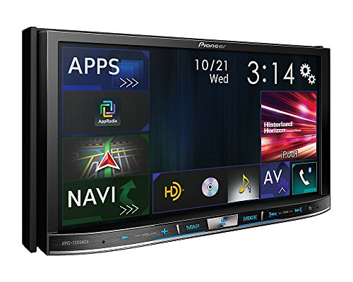 Pioneer AVIC-7201NEX Double Din Radio Install Kit with GPS Navigation Apple CarPlay Android Auto Fits 2010-2013 Non Amplified Toyota 4Runner by Pioneer Volunteer Audio (Image #4)