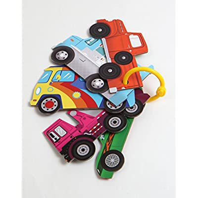 Bumper-to-Bumper Stroller Cars (Vehicle Themed Stroller Cards, Unique Gift for New Mom & Dad): Lu, Nick: Toys & Games