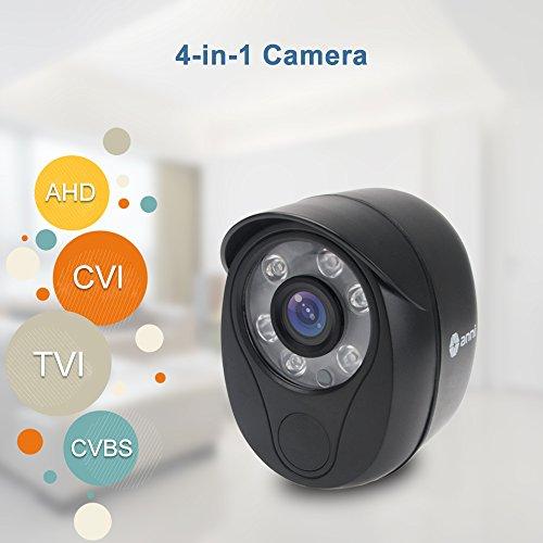 Security Camera,1/4 CMOS 720P HD 2000TVL Outdoor/Indoor Home Surveillance CCTV Bullet Camera with IR Cut-80ft IR Night Vision, IP66 Waterproof