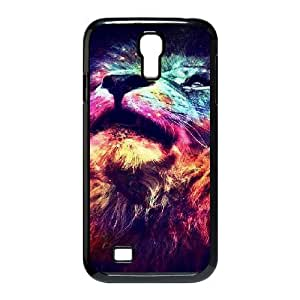 Lion The Unique Printing Art Custom Phone Case for SamSung Galaxy S4 I9500,diy cover case ygtg540411
