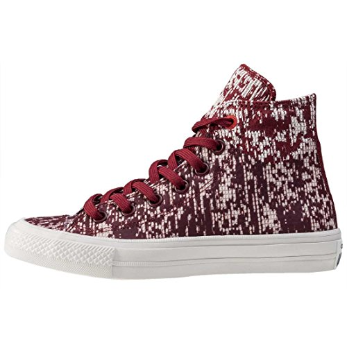 Converse Mens All Star Hero Chuck Ii Hi Sneaker Rosso Scuro