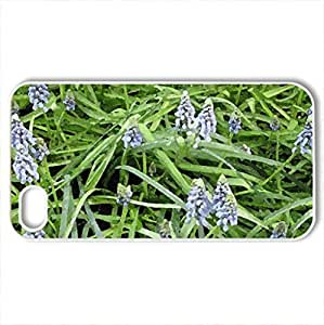 Spring perfume day 16 - Case Cover for iPhone 4 and 4s (Flowers Series, Watercolor style, White)
