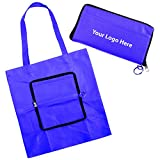 Zippin Tote - 100 Quantity - $2.90 Each - PROMOTIONAL PRODUCT / BULK / BRANDED with YOUR LOGO / CUSTOMIZED