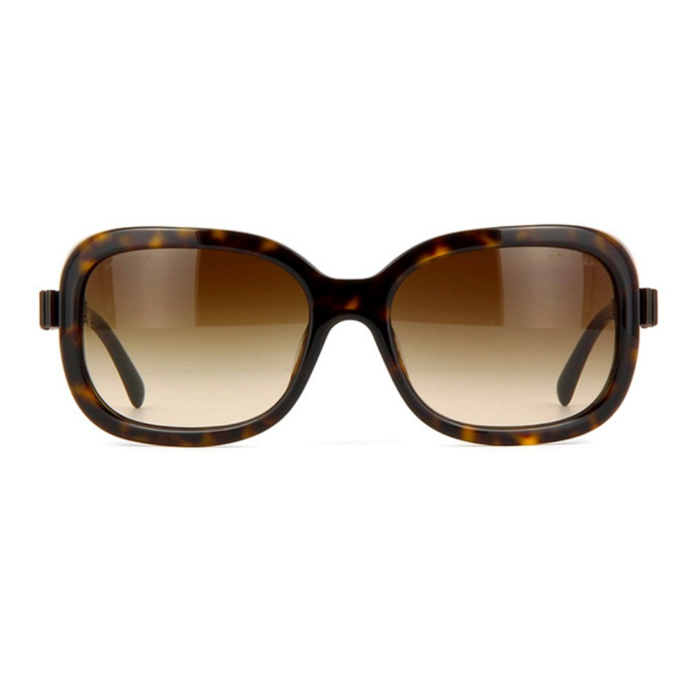 Gafas de Sol Chanel CH5280Q DK HAVANA/BROWN GRADIENT: Amazon ...