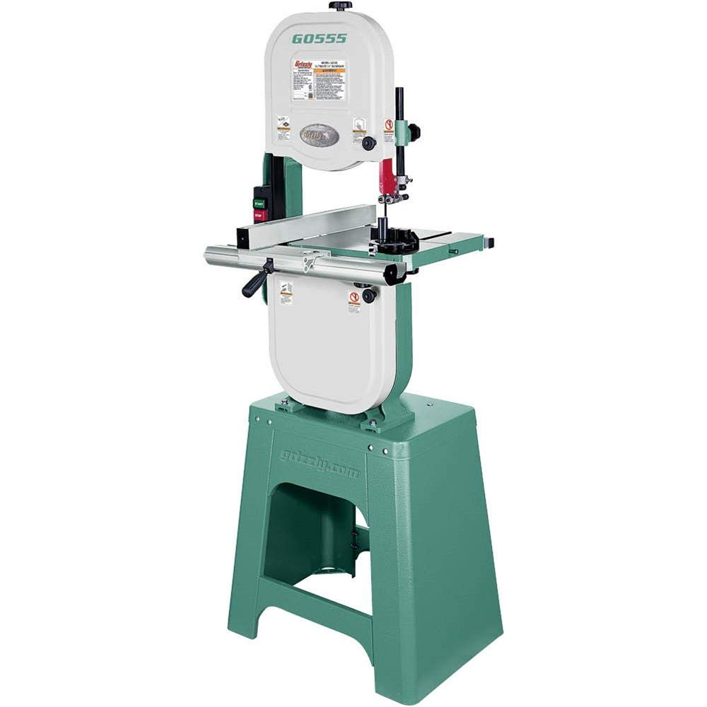 "Grizzly Industrial G0555 - The Ultimate 14"" Bandsaw"