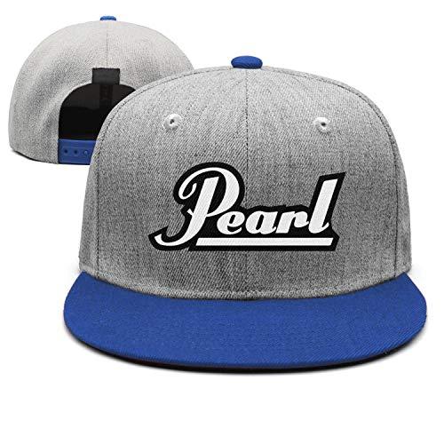 uter ewjrt Adjustable Pearl-Drums-Logo- Snapback Hats Personalized Sports Caps (Drum Apparel Pearl)