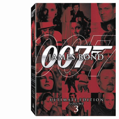 James Bond Ultimate Edition - Vol. 3 (GoldenEye / Live and Let Die / For Your Eyes Only / From Russia With Love / On Her Majesty's Secret Service)