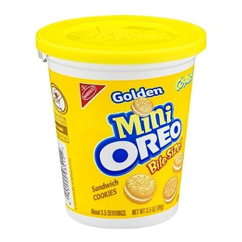 Nabisco Golden Mini Oreo Bite Size Sandwich Cookies (Bite Size Oreos)