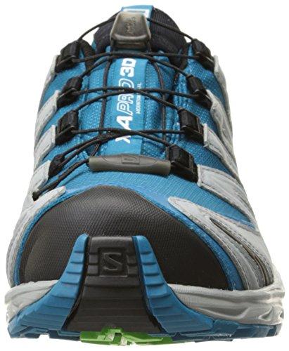 Salomon Womens Xa Pro 3d Cs Impermeabile W Trail Scarpa Da Corsa Nebbia Blu / Luce Onix / Igloo Blu