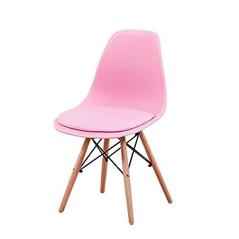 Amazon.com: Zcxbhd Moderno sillas de comedor plástico Eiffel ...