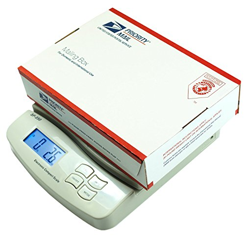 Digital Postal Shipping Scale Weight Postage Battery and AC Adapter Included, Versatile, Counting Function, Perfect for Personal and Business use
