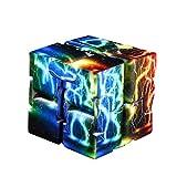 Dacawin(TM) Luxury EDC Starry Sky Datura Lightning Infinity Cube Mini For Stress Relief Fidget Anti Anxiety Stress Funny (F)