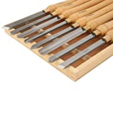 SAVANNAH 8-Piece HSS Wood Lathe Chisel Set