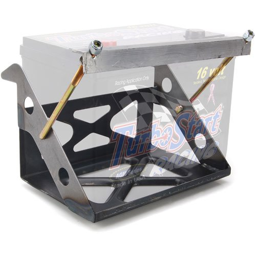JEGS Performance Products 10222K Weld-In Battery Box Kit with Battery Cables Includes: by JEGS