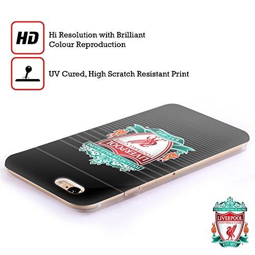 Officiel Liverpool Football Club Troisième Coloré Plein Crête Designs Étui Coque en Gel molle pour Apple iPhone 5 / 5s / SE